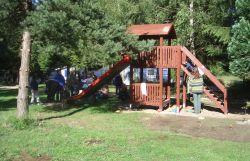 Rutschvergnügen auf 1m Breite für kleine Camper